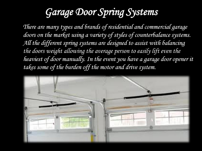 Garage Door Spring Systems By Garagedoornationus Issuu