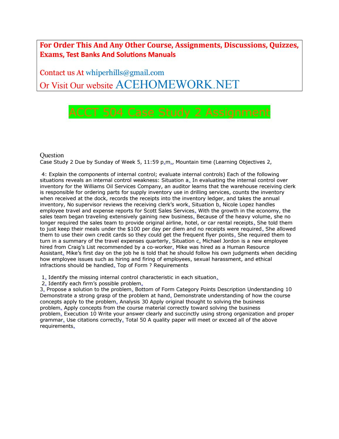Design Your Own Log Home Software Acct 504 Case Study 2 Assignment By Acehome Net Issuu