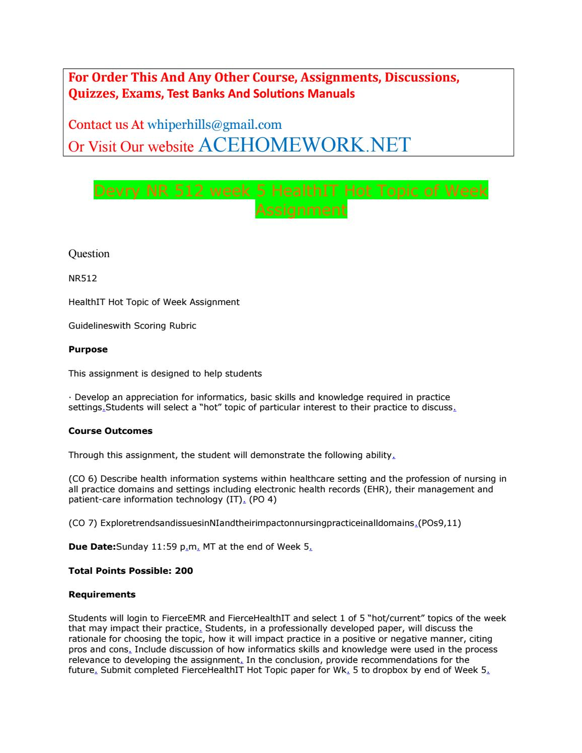nr 361 rn information systems in Introduction to accounting information systems, essentials of accounting, intermediate accounting i,  nr 439 research database assignment form,.