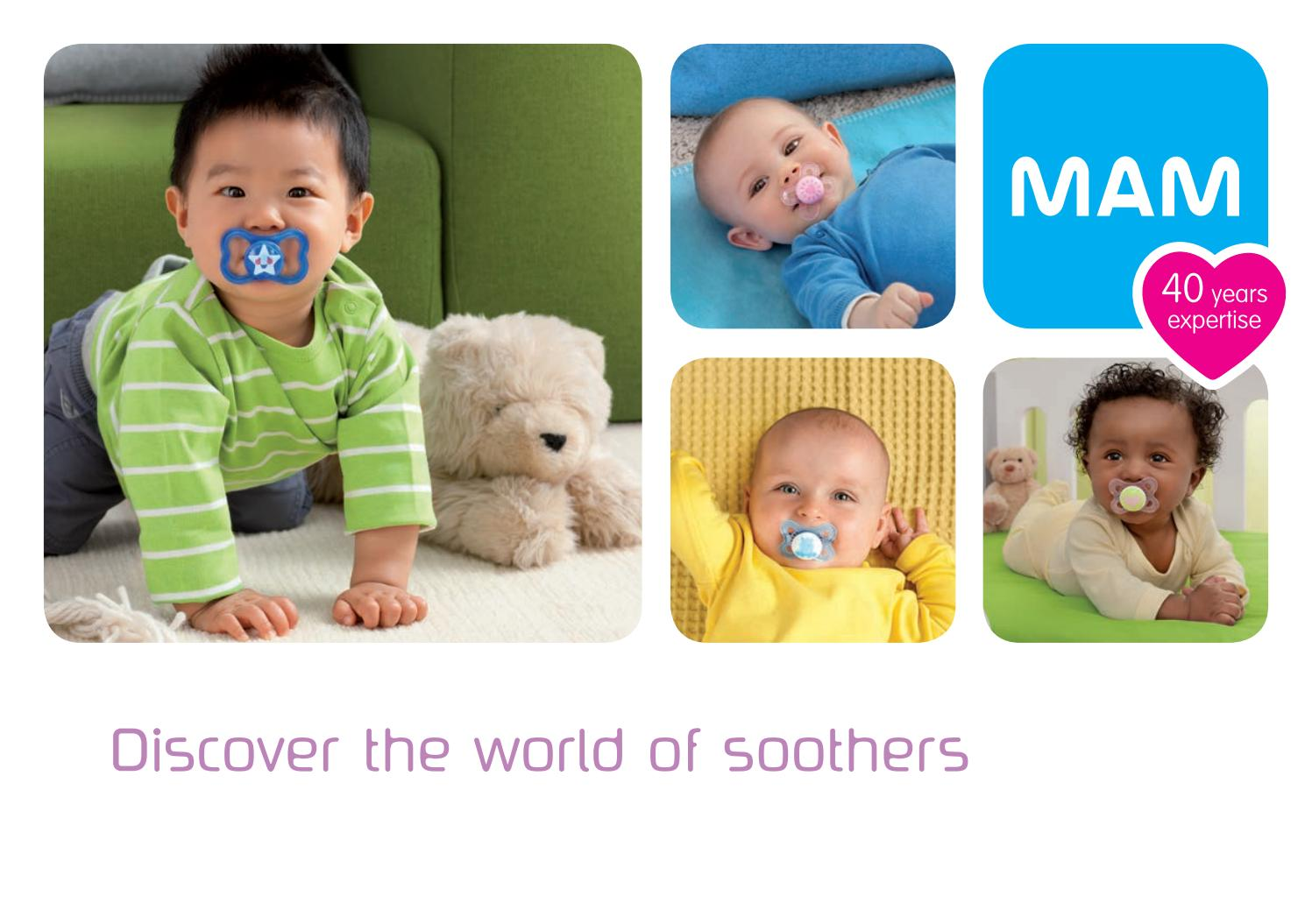 Child Kids Night Time Soother BPA /& BPS Free MAM Baby