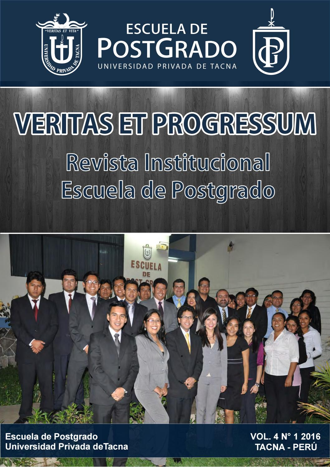revista institucinal 2016 by postgrado upt issuu