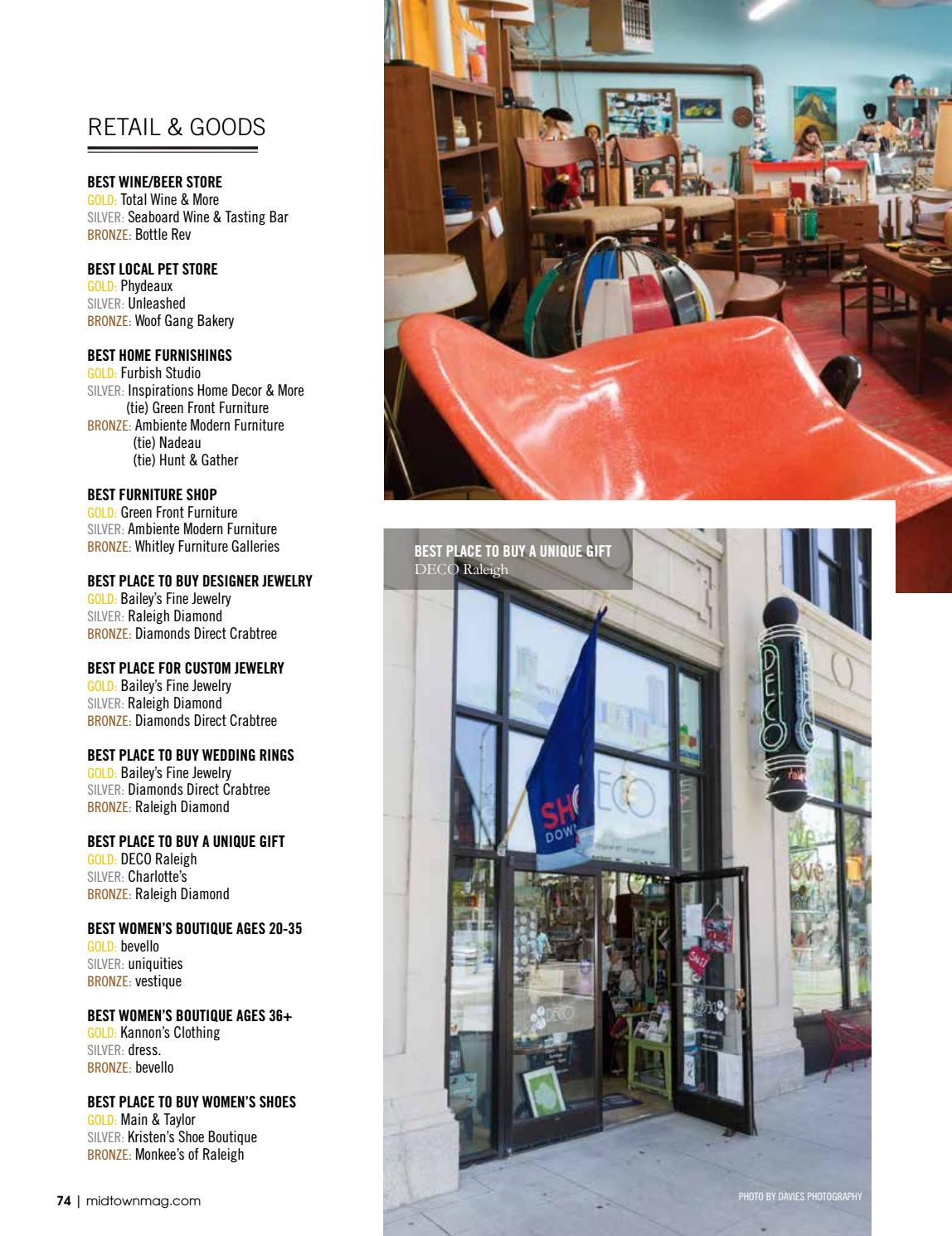 Midtown Magazine By Midtown Magazine, Cary Living Magazine   Issuu