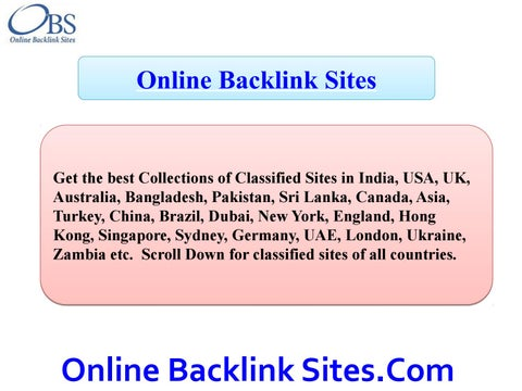 Free Classified Submission Sites List (Ad Posting Sites)