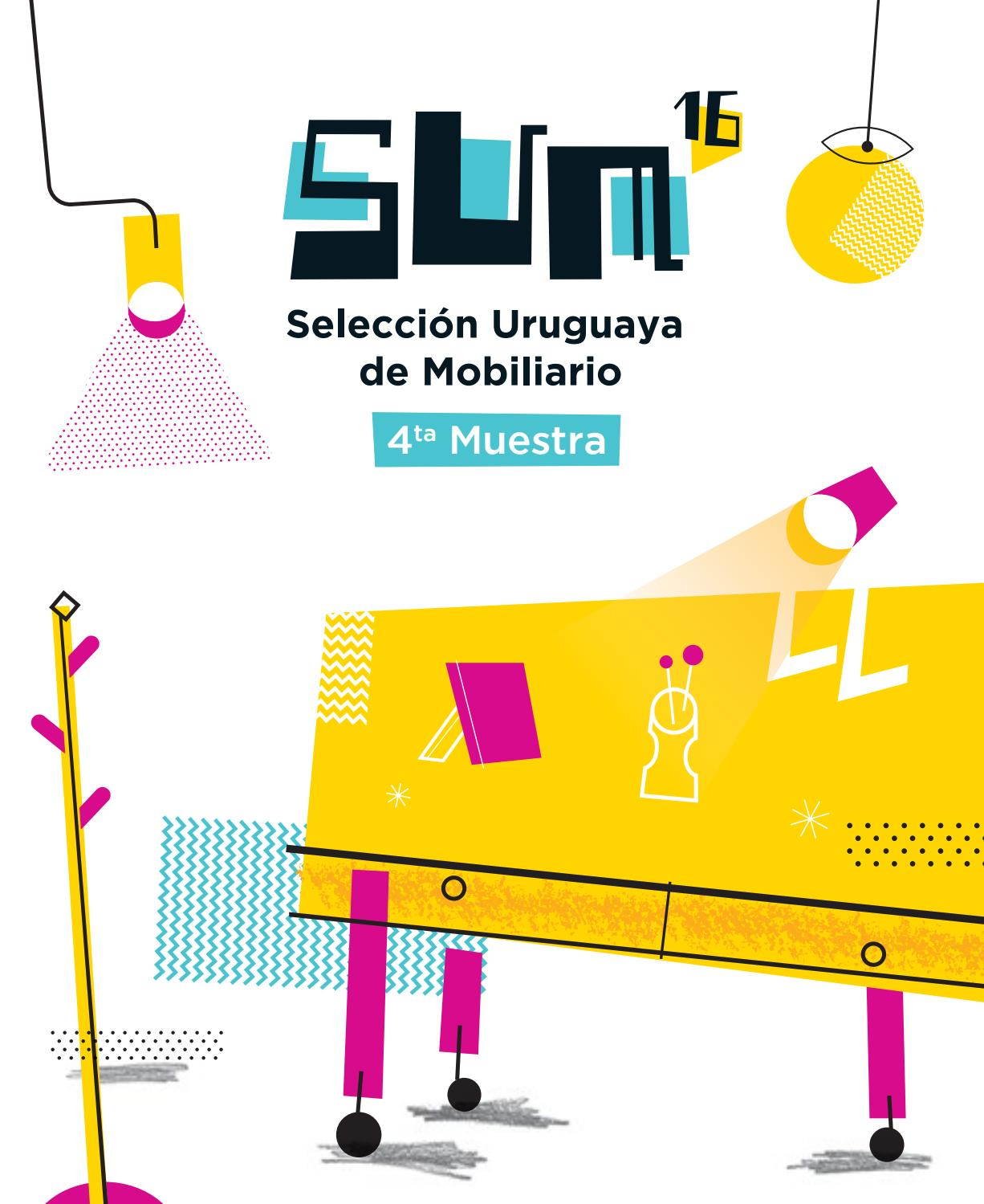 Cat Logo 4ta Muestra Sum 16 Selecci N Uruguaya De Mobiliario By  # Muebles Artesanales Casa Muar