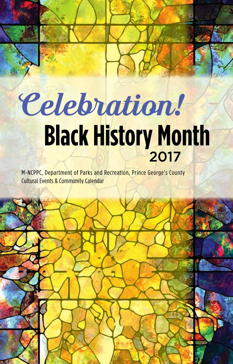 2017 Black History Month by M-NCPPC, Department of Parks