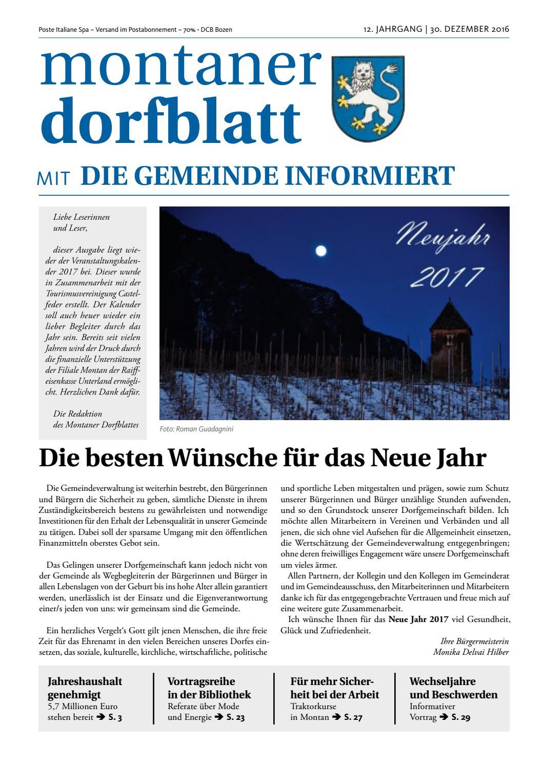 montaner_dorfblatt_dezember_2016 by Montaner Dorfblatt - issuu