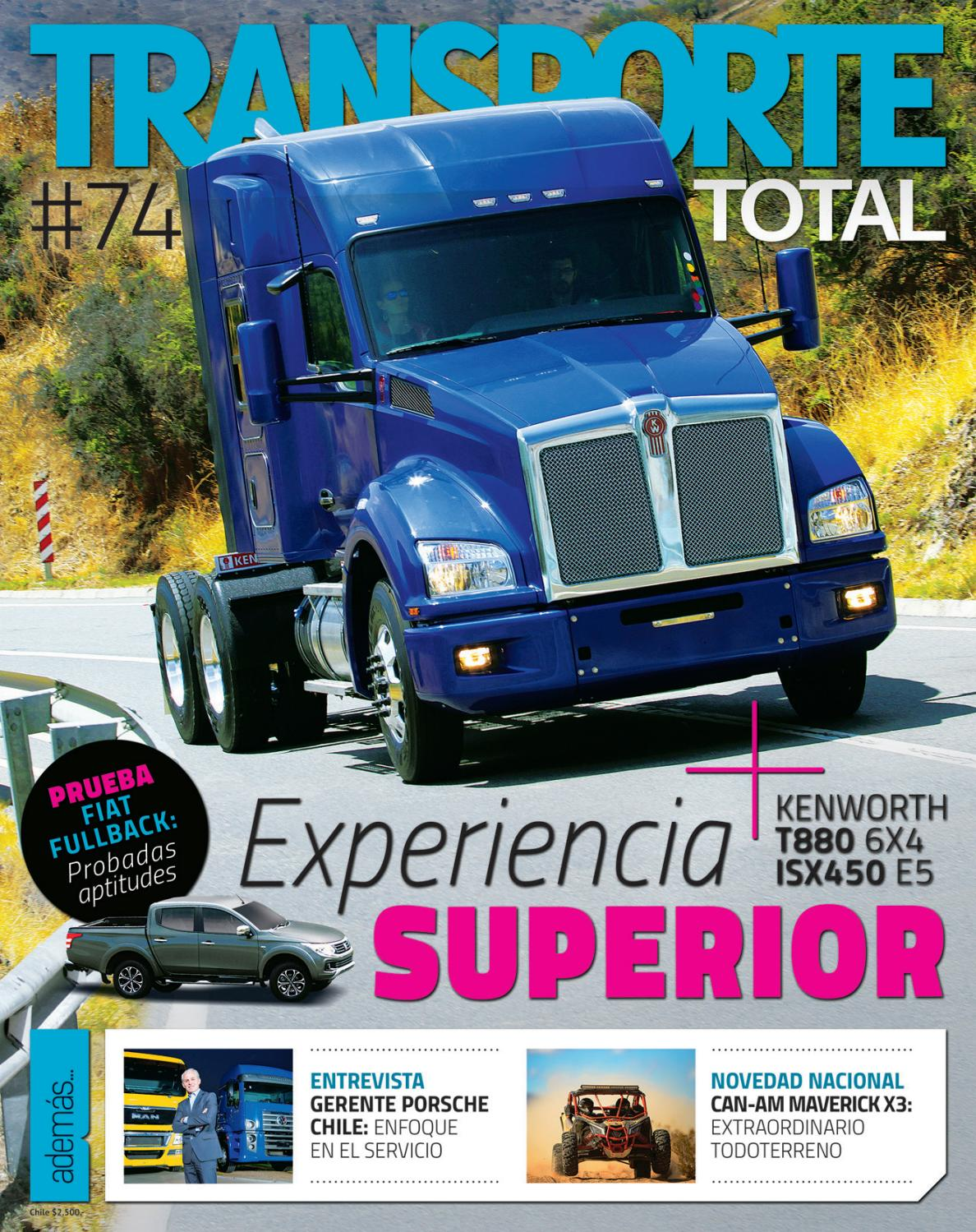 Revista Transporte Total Nº 74 (Diciembre 2016) by RS Chile - issuu