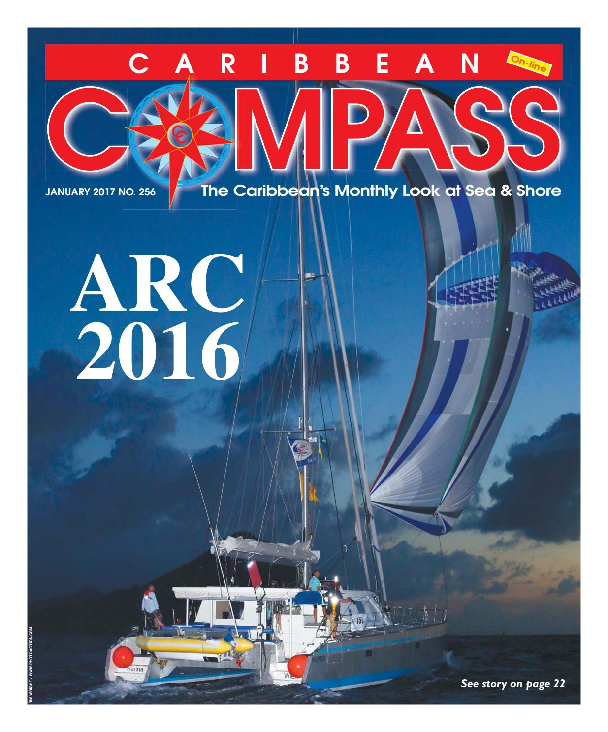 Caribbean Compass Yachting Magazine January 2017 By Purpose Electric Motor 1 3 Hp Model 10000600 Motors Publishing Issuu