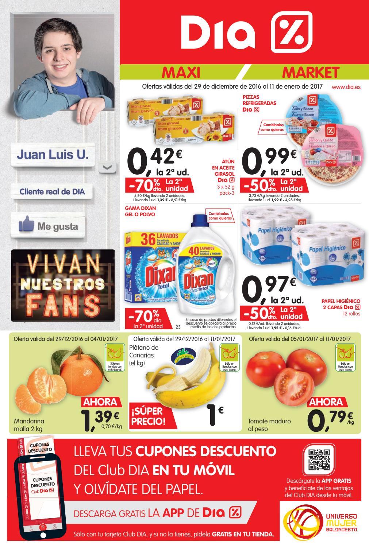 Folleto dia by ofertas supermercados issuu - Ofertas canarias enero ...
