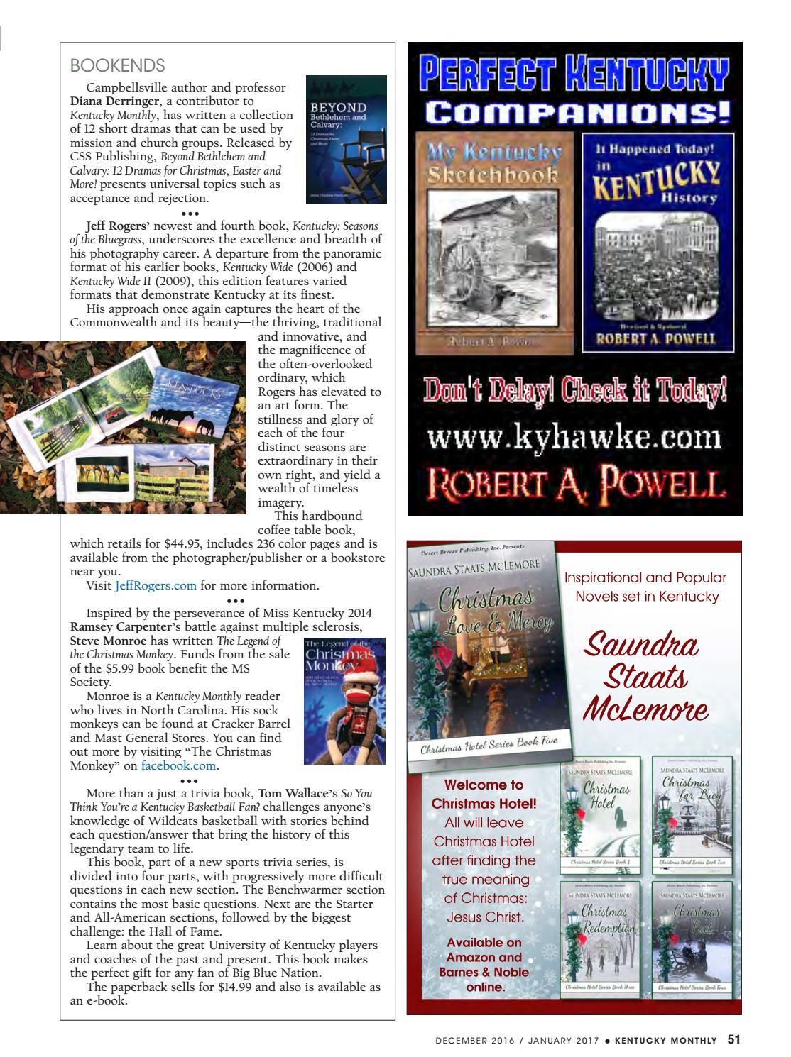 December 2016-January 2017 | Kentucky Monthly Magazine by Kentucky ...