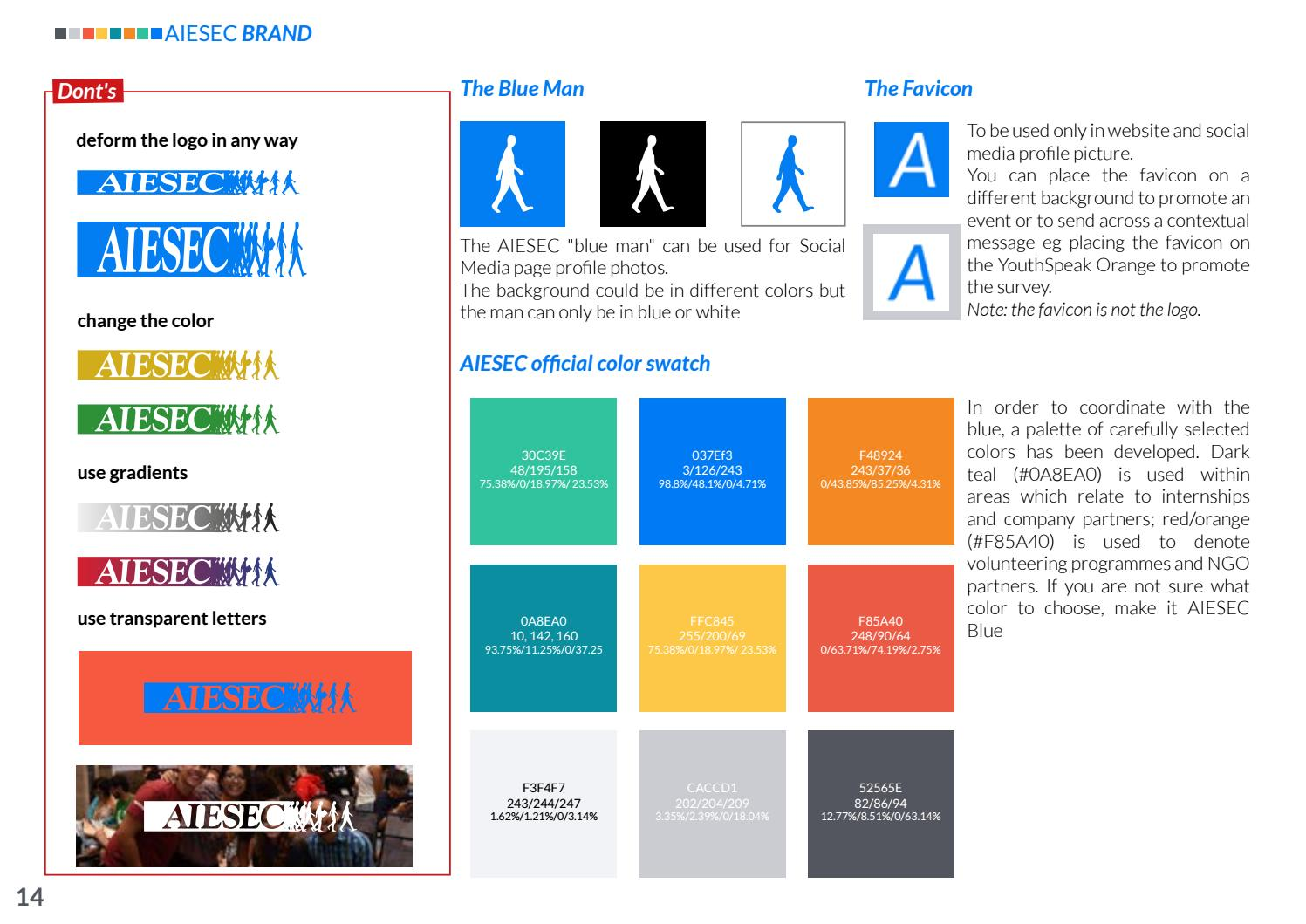Brand Toolkit   AIESEC Blue Book by MC Colombia - issuu