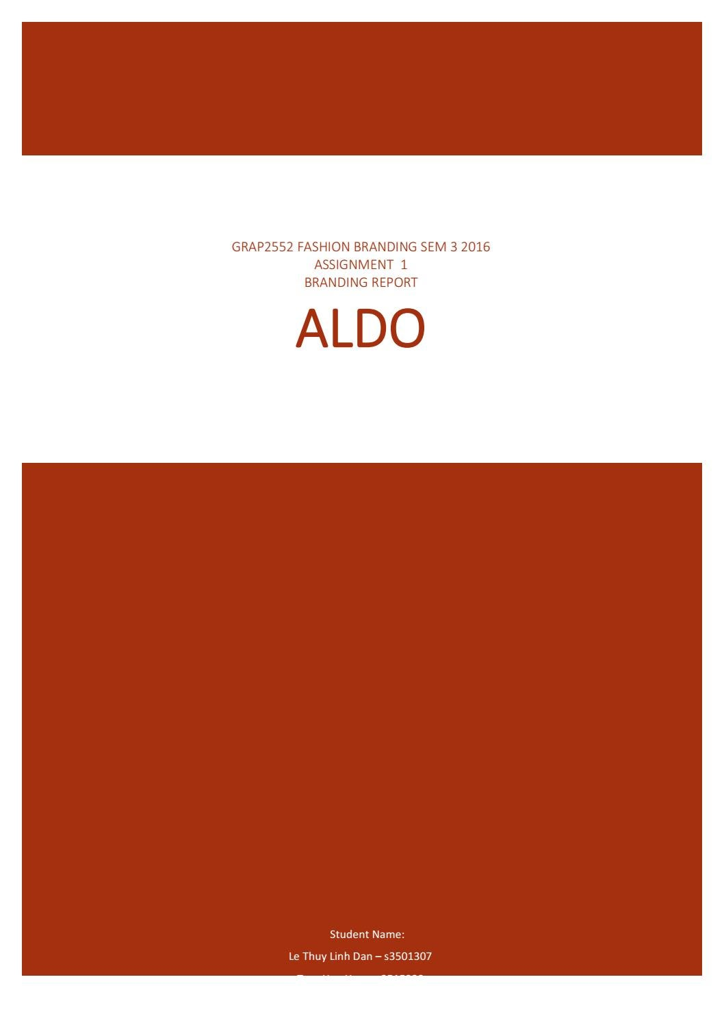 Aldo assignment pdf by s3515229 issuu buycottarizona Gallery