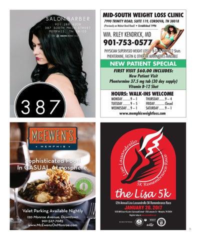 Memphis Health Fitness Magazine January 2017 By Memphis Health