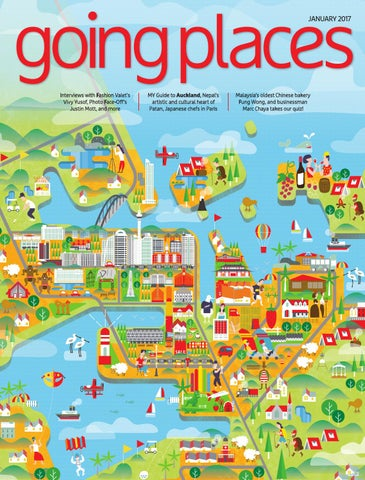 Going Places February 2017 By Spafax Malaysia