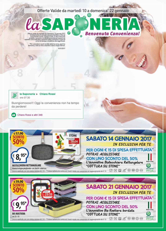 Volantino la saponeria n 1 2017 by la saponeria issuu for Elenco scadenze fiscali 2017