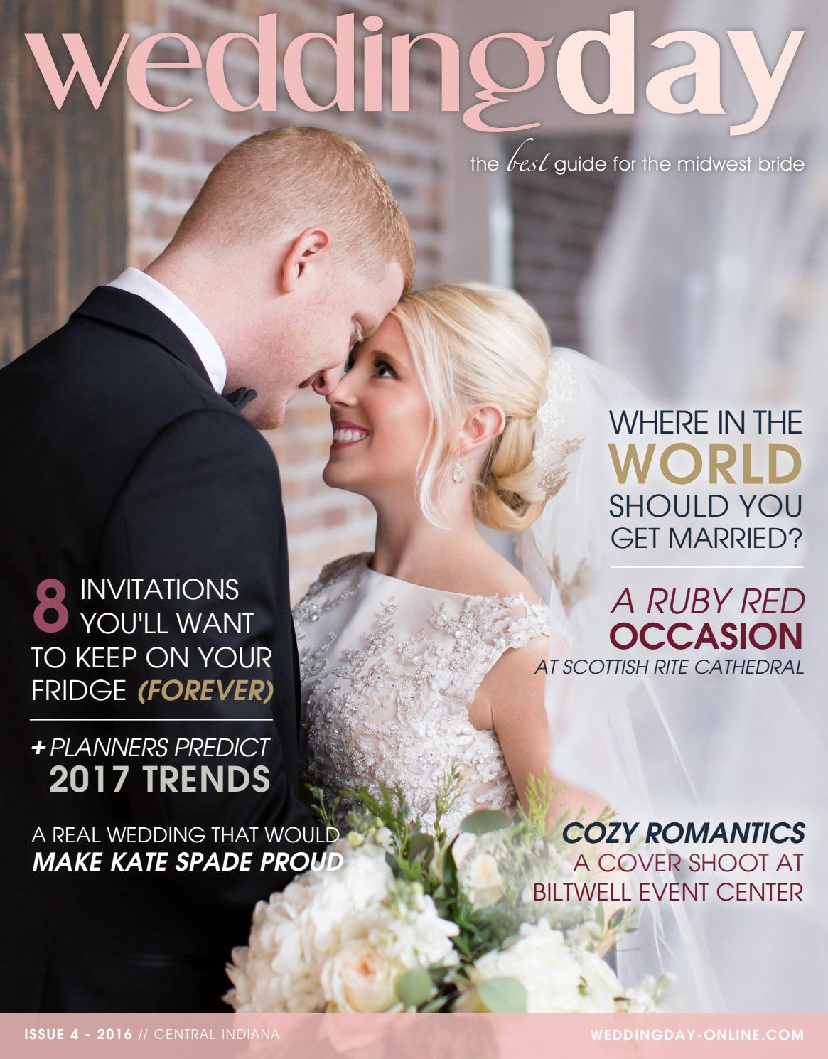 56f9304a9c1 WeddingDay Magazine - Central Indiana Issue 4 2016 by Life Events Media -  issuu