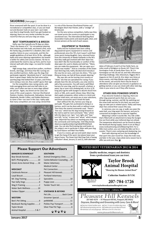 2017 January Downeast Dog News by Jennifer Rich / Wendi Smith - issuu