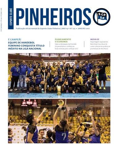 Revista n° 225 Janeiro - 2017 by Esporte Clube Pinheiros - issuu a51f96ee3e7d3