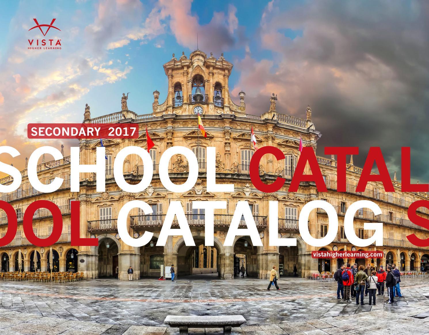 Vista Higher Learning - 2017 School Catalog by Vista Higher ...