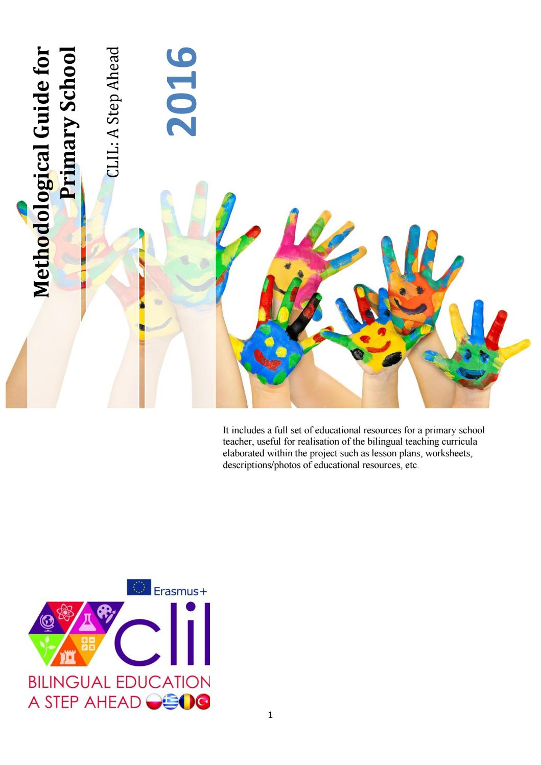 Clil Methodological Guide For Primary Education By Ju Budzowska