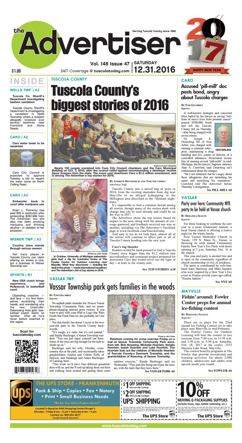2cdd5b9b24bb8b Tca 12 31 16 all pages by Tuscola County Advertiser - issuu