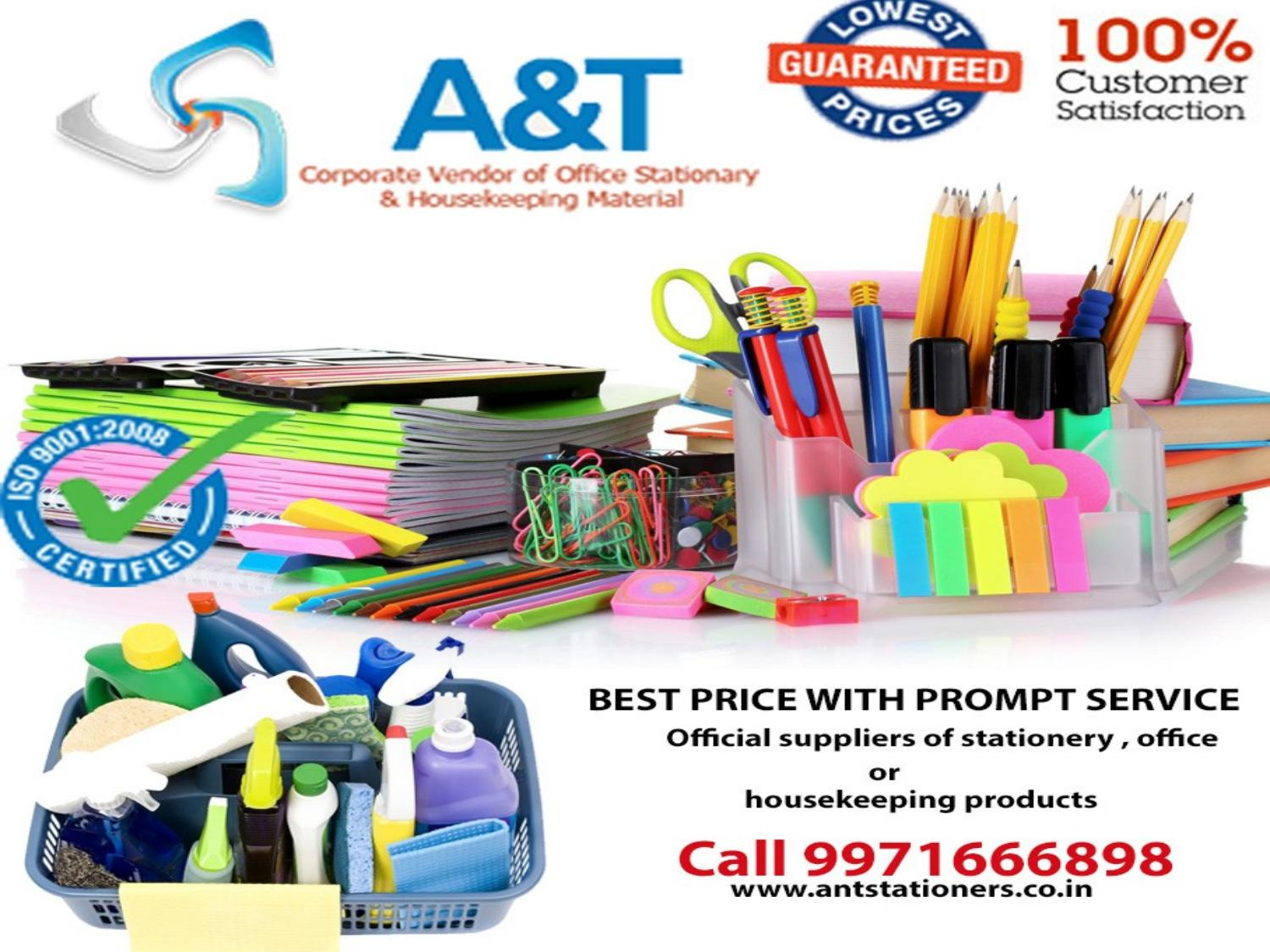 Get The Best Distributor Or Supplier Of Office Stationery In Gurgaon By Ant Stationers Issuu