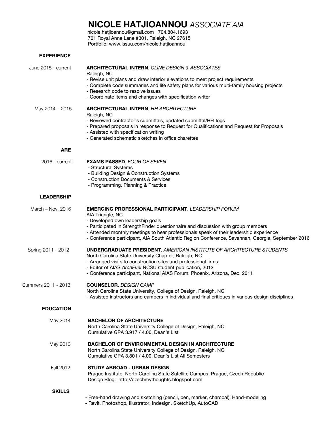 nicole hatjioannou resume by nicole hatjioannou