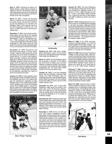 a6aa811e9 UMD Men's Hockey Media Guide by UMD Bulldogs - issuu