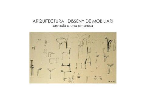 Pdf Arquitectura I Disseny De Mobiliari By