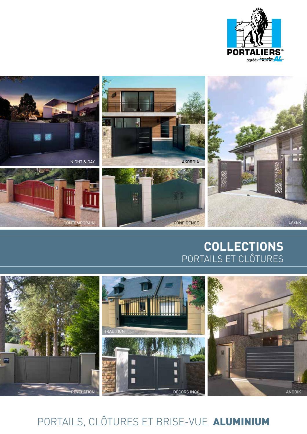 portails horizal en aluminium 2 by sitti issuu. Black Bedroom Furniture Sets. Home Design Ideas