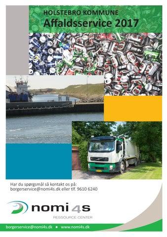 Affaldsservice affaldsservice holstebro kommunenomi4s - issuu
