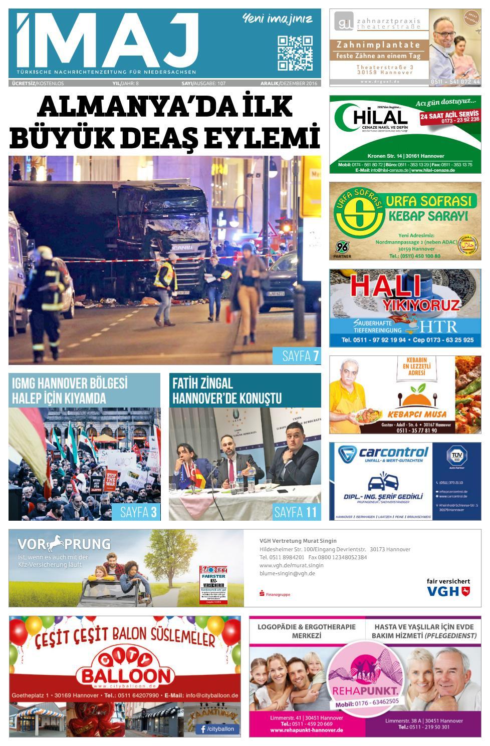 Imaj Gazetesi 107 Sayisi Aralik 2016 By Imajgazetesi Issuu