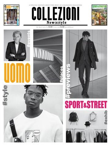 Collezioni New(s)tyle - Collezioni Sport Street and Uomo  ss 2017 by ... 7d3eb917db7