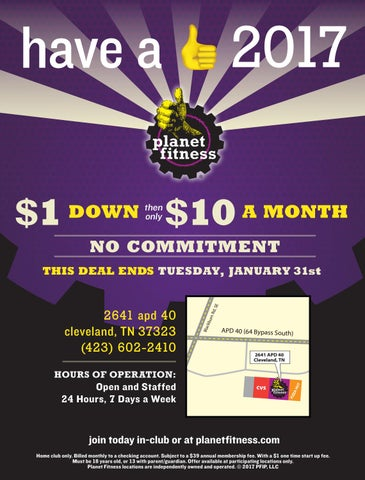 Hey guys and gals, So Planet Fitness is running their 99 dollar for a year promotion