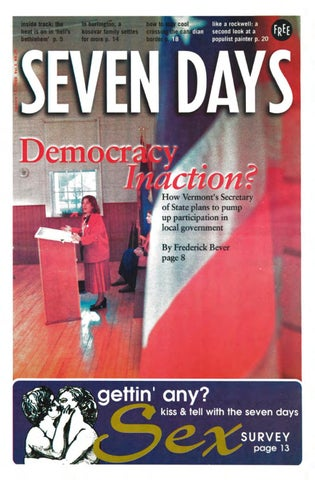 Seven Days January 12 2000 By Seven Days Issuu