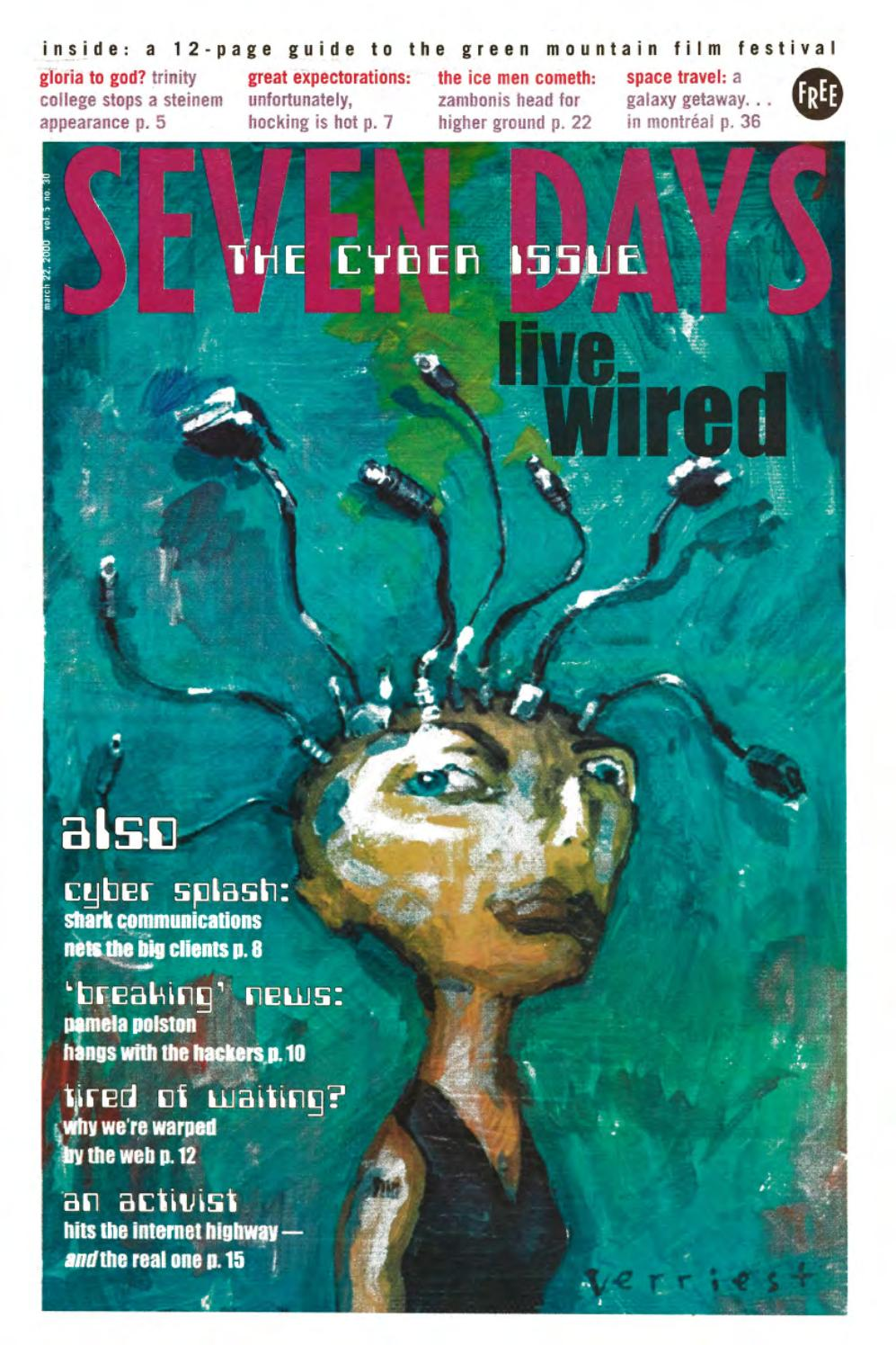 Seven Days, March 22, 2000 by Seven Days - issuu