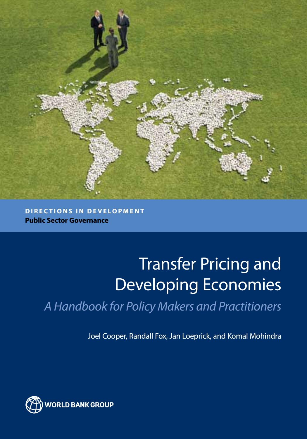 Transfer Pricing and Developing Economies by World Bank Publications - issuu 3f7bdc4ae22