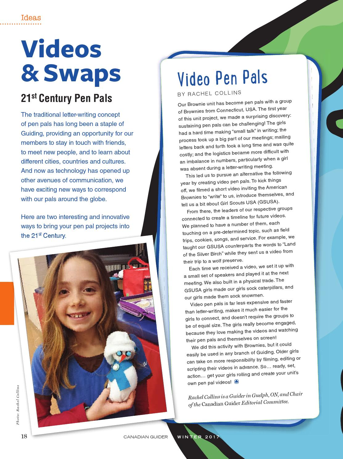 Canadian GuiderWinter 2017 by Canadian Guider: Girl Guides