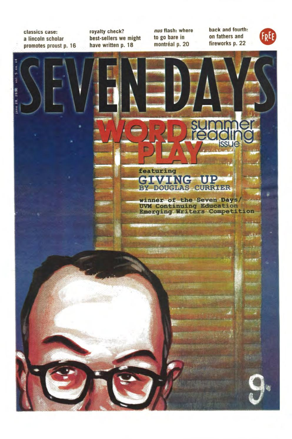 Seven days june 28 2000 by seven days issuu