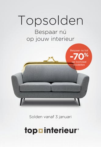 Top Interieur - Solden januari 2017 by Topinterieur - issuu