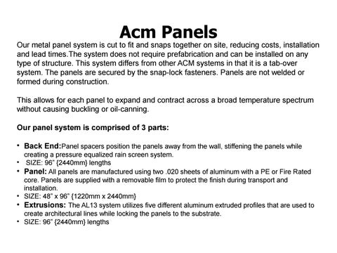 Acm Panels by seth - issuu