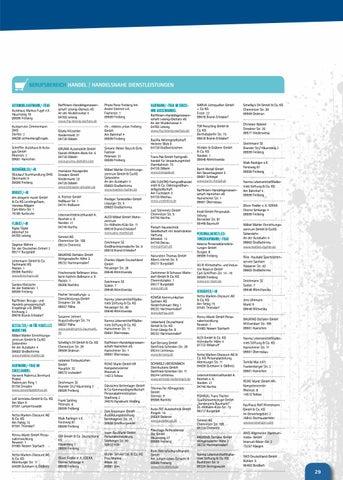 Ausbildungsverzeichnis 2017 Ihk Chemnitz By Stadtstreicher