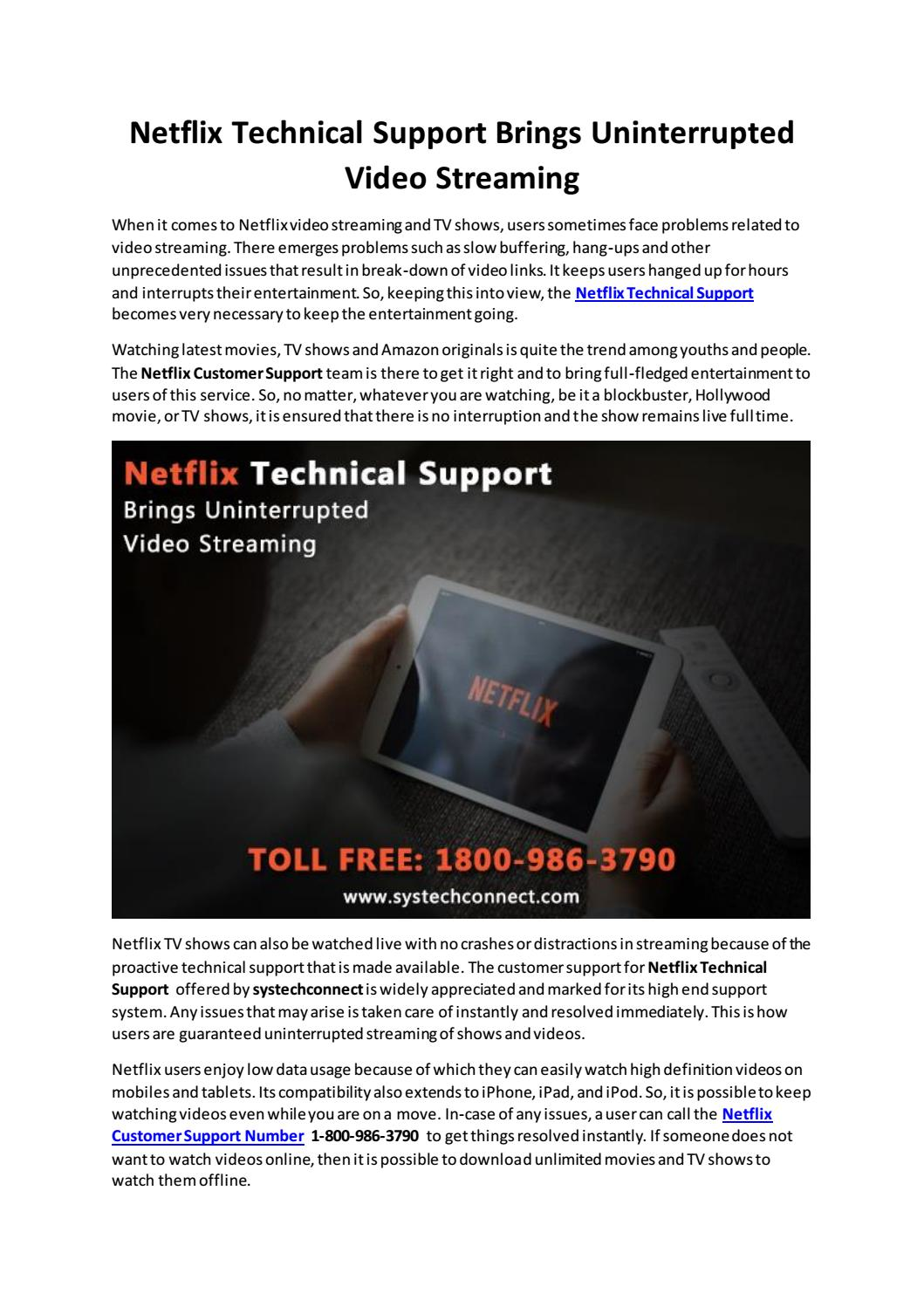 Think Your Netflix Network Activation Is Safe? by Taylor