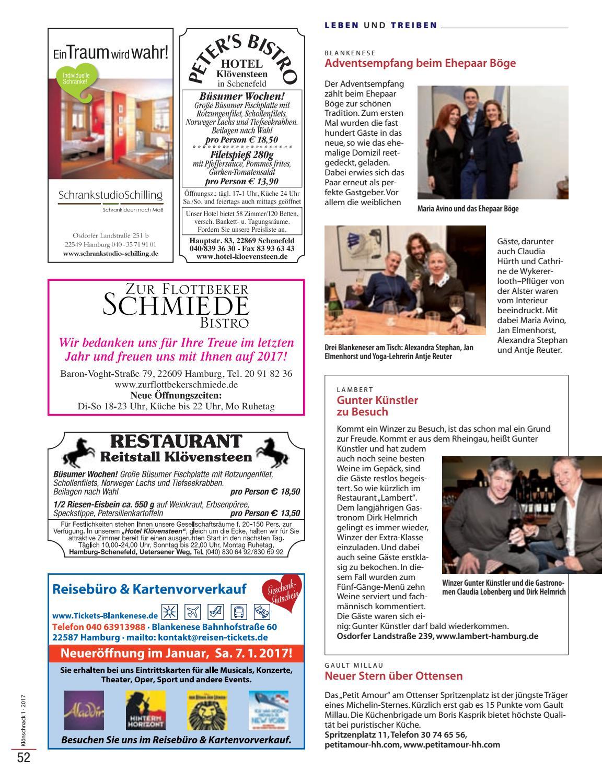 Kloenschnack Januar 2017 by Hamburger Klönschnack - issuu