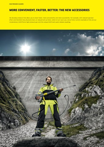 4 Metre Karcher HD 5//15 Type Pressure Washer Drain Cleaning Hose Four 4M M