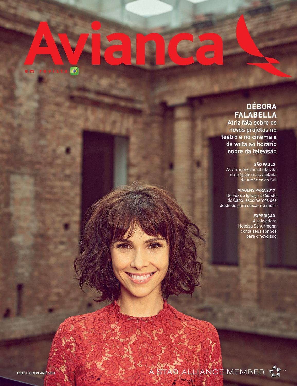 78 - Débora Falabella by Avianca em Revista - issuu ca71320c46