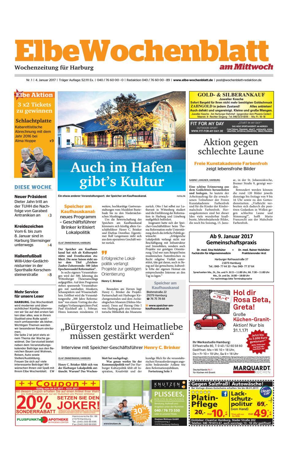 Harburg KW01-2017 by Elbe Wochenblatt Verlagsgesellschaft mbH & Co ...