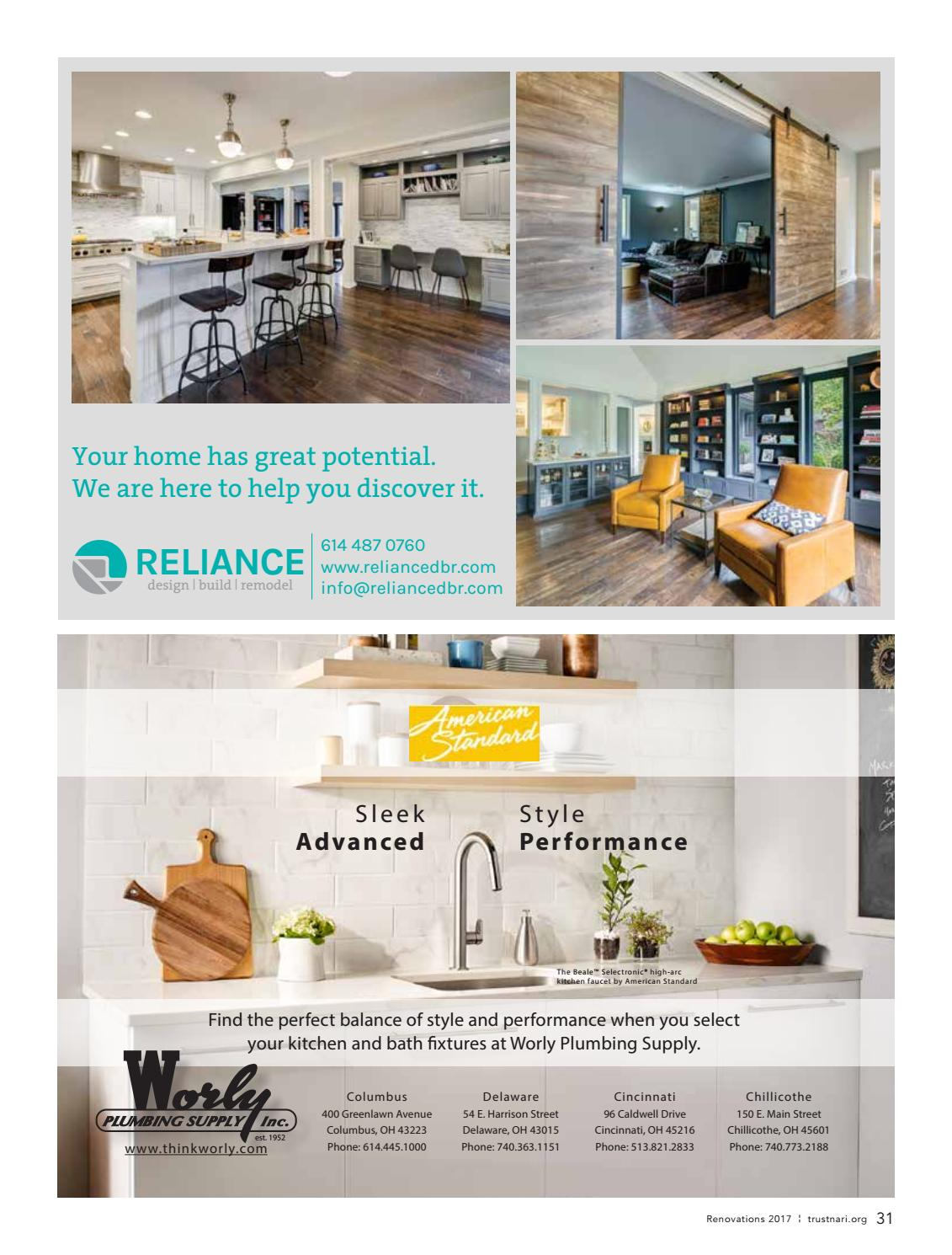 2017 Nari Of Central Ohio Remodeling Resource Magazine By