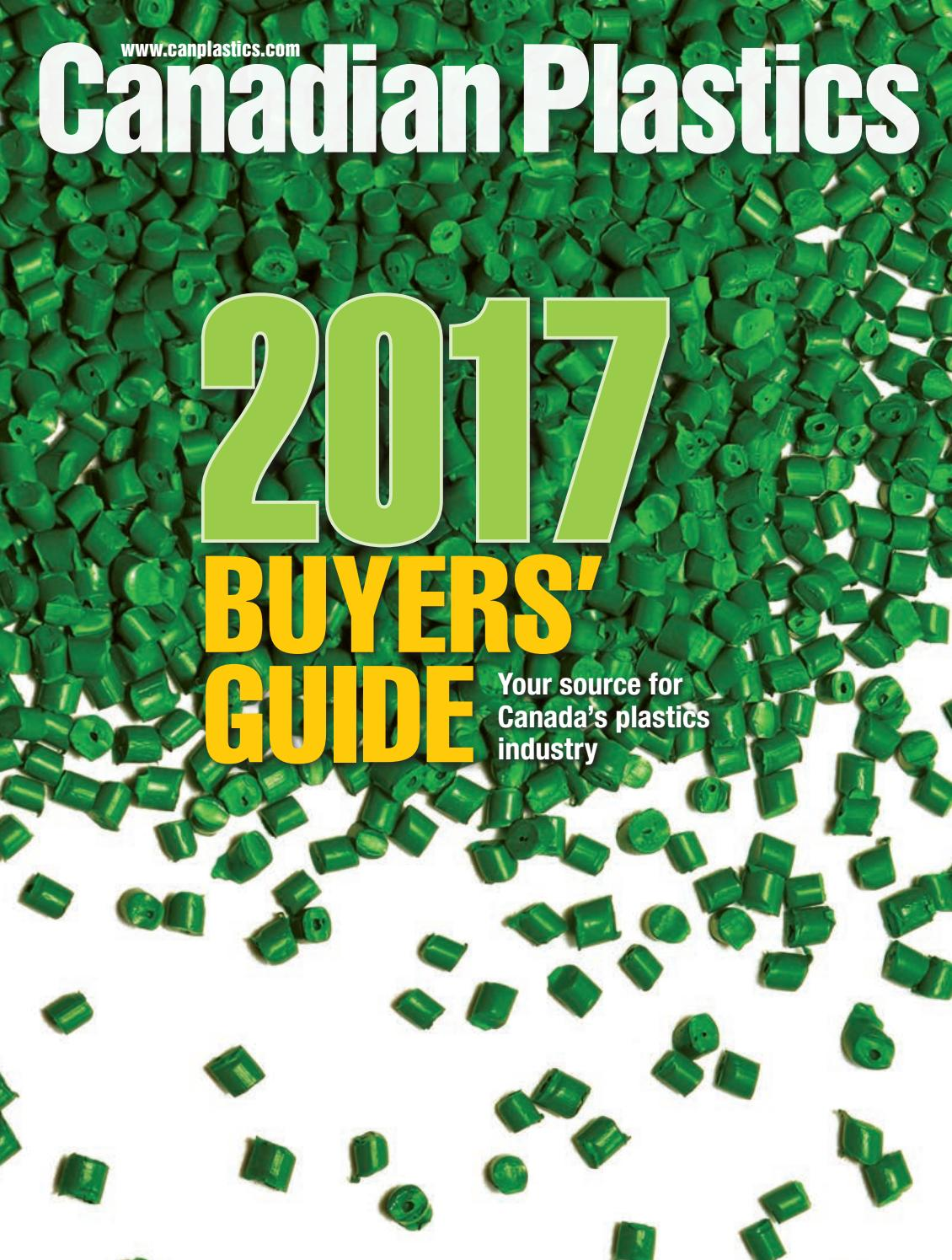 Canadian Plastics 2017 Buyers Guide by Annex Business Media - issuu