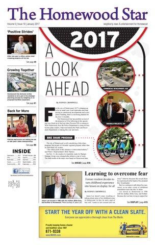 The homewood star january 2017 by rick watson issuu page 1 the homewood star solutioingenieria Choice Image